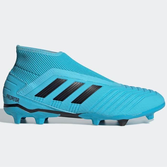 Adidas Predator 19.3 Laceless Fg Chaussures De Football Sol Dur Hommes