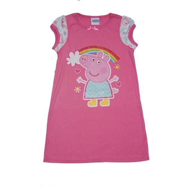nouveau produit bf966 ce5df Chemise de nuit filles robe peppa pig 2 - 3 ans pyjama ...