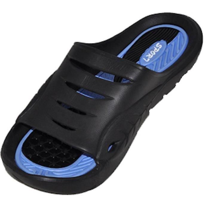 Cinco caoutchouc Sandal Slipper confortable Douche de plage Slip de chaussure Flip Flop ZVSPM Taille-43 CZQWh
