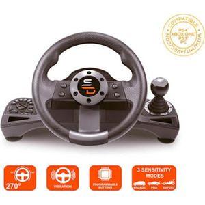 VOLANT JEUX VIDÉO Volant Drive Pro Sport avec pédalier et levier de