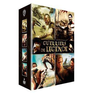 DVD FILM DVD Coffret guerriers de légende - Le choc des tit