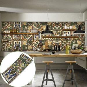 Frise murale adhesive salle de bain - Achat / Vente pas cher