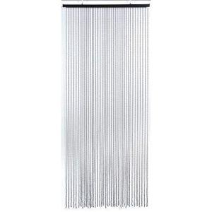 RIDEAU DE PORTE Rideau de porte déco perles rondes noires 5505295
