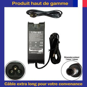 Chargeur dell inspiron n5050 - Achat / Vente pas cher