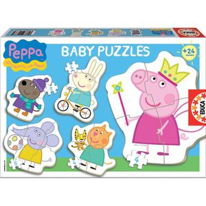 PUZZLE PEPPA PIG Puzzle Baby Peppa Pig - 24 pièces