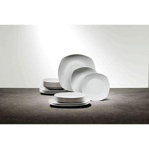 SERVICE COMPLET FINLANDEK Service vaisselle - Couleur blanc - 18 p