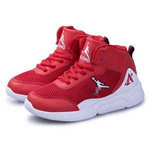 BASKET Baskets Hautes Garçon Chaussure de Sport Walking S