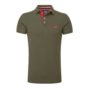 POLO Michele Conte Homme Polo Petrol Manches Courtes