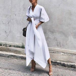 12605d8702 ROBE Robe de soirée pour femme à manches courtes et à c
