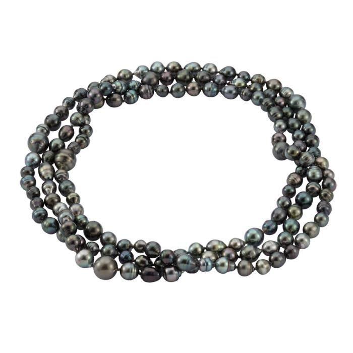 Adriana Premium collier avec perles des tahiti PR3-1