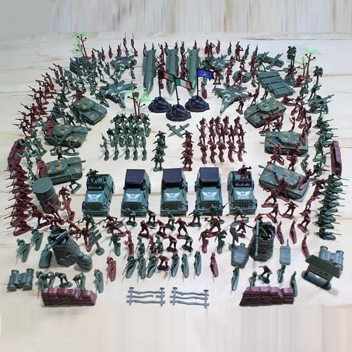 307 pcs set seconde guerre mondiale nostalgique jouet soldat militaire de haute militaire de. Black Bedroom Furniture Sets. Home Design Ideas