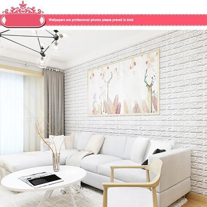 BRICOLAGE 3D Brique PE Peindre Papier Peint Panneaux Chambre Decal Pierre  Décoration En Relief Decor94