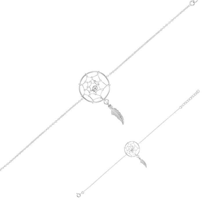Jouailla - Bracelet argent rhodié 925-1000e