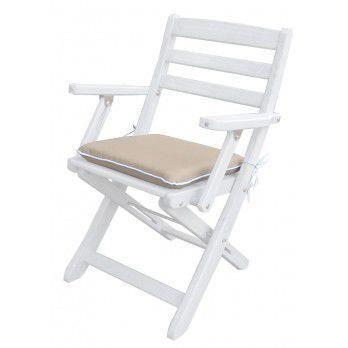 coussin d 39 assise haute densit pour chaise 40 x achat vente coussin d 39 ext rieur coussin d. Black Bedroom Furniture Sets. Home Design Ideas