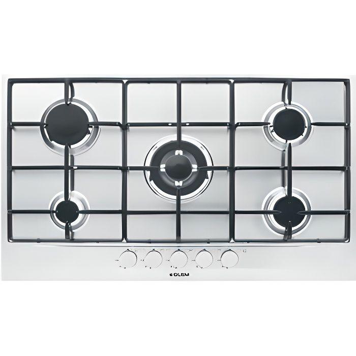 table de cuisson gaz 90 cm - achat / vente table de cuisson gaz 90