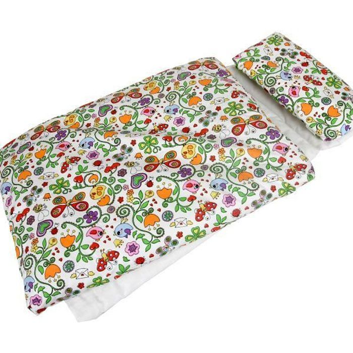 linge de lit couverture Linge de lit coussin couverture matelas pour poupees Jouet Enfant  linge de lit couverture