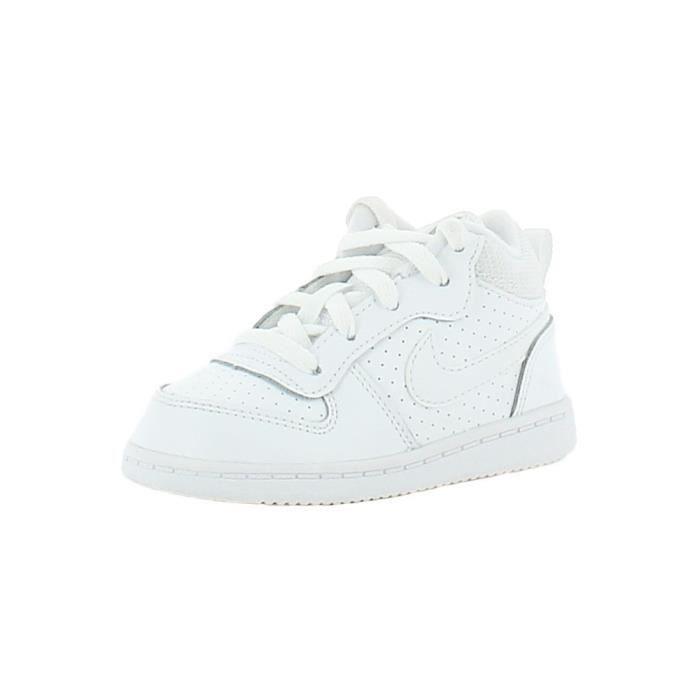 Nike - Nike Court Borough Mid(Td) Blanc