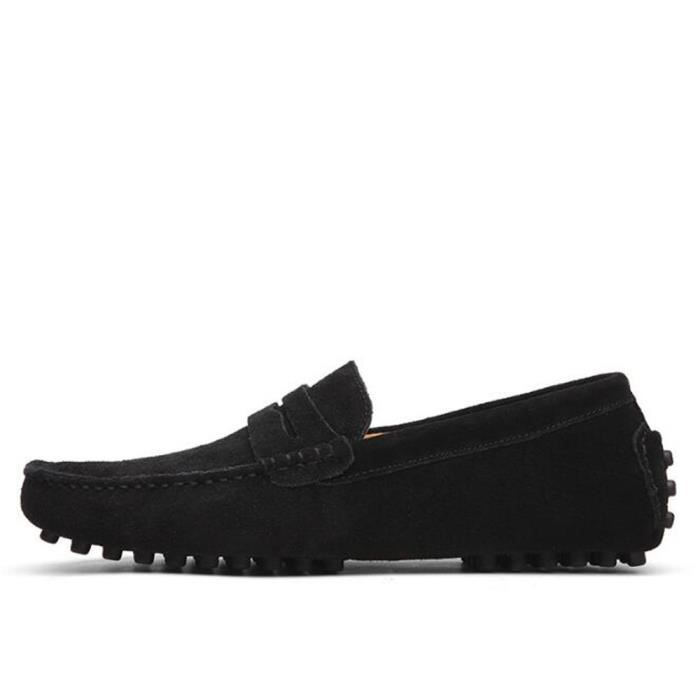 Moccasin homme 2017 nouvelle marque de luxe chaussure 2017 ete Loafer Grande Taille chaussures Nouvelle Mode hommes Moccasin 38-40 cHFeAbylco