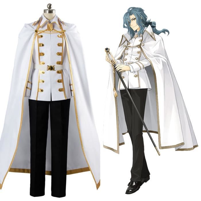 Fate/Apocrypha FA Master Darnic Prestone Yggdmillennia Cosplay Costume Blanc Blanc - Achat / Vente botte  - Soldes* dès le 27 juin ! Cdiscount