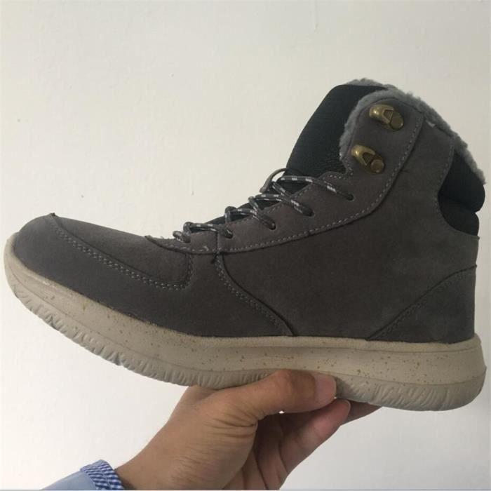 Chaussures de sport hommes Basket mode homme loisirs fourréesChaussures fourrées Chaud Chaussure Hiver Plusdssx440gris44 O2Eaie