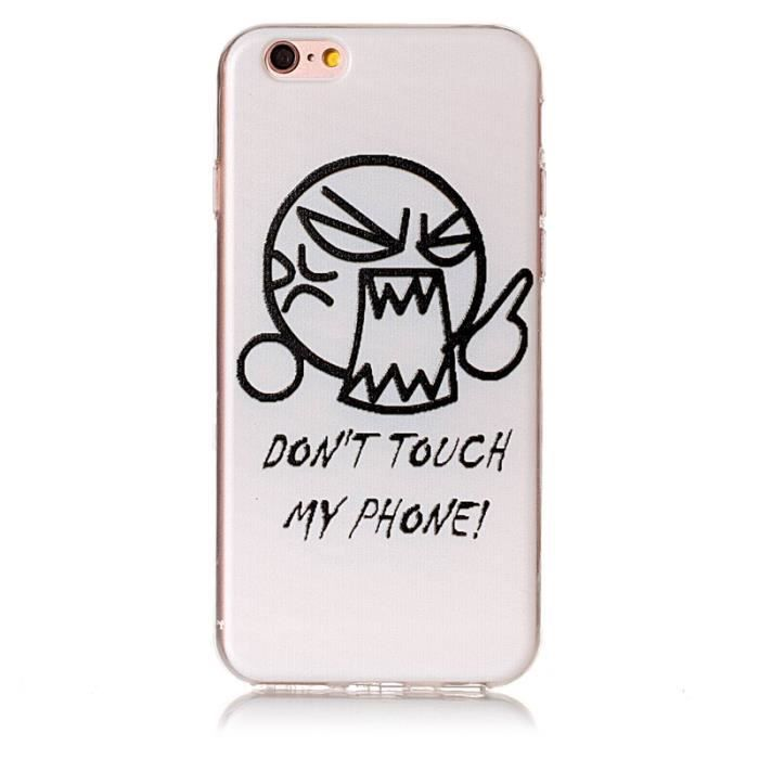 coque iphone 6 dont touch my phone