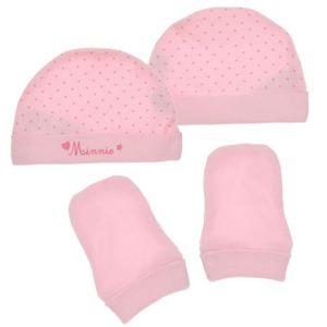 Nursery Time - Ensemble cadeau chaussons et bonnet - Bébé fille Dh38Cnv4