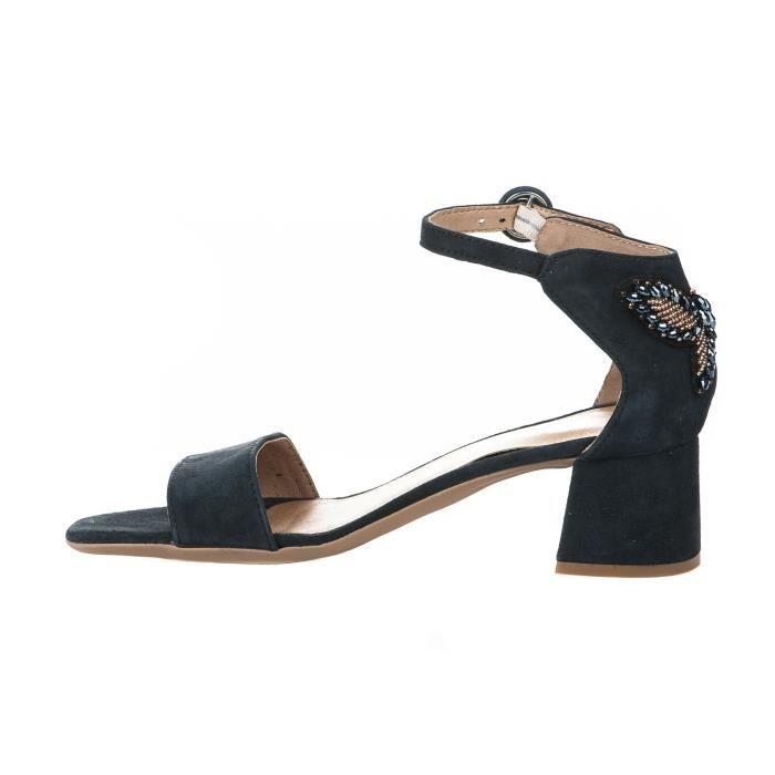 Nu pieds femme - ALPE - Bleu marine - 3697 - Millim