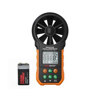 ANÉMOMÈTRE - LUXMÈTRE MS6252B Anémomètre numérique Vitesse de vent Therm