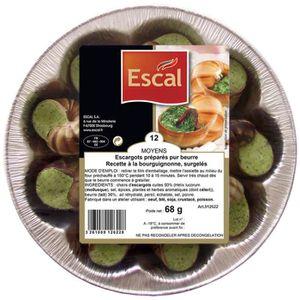 ESCAL 12 Escargots Helix Lucorum Recette à la Bour