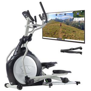 VÉLO ELLIPTIQUE skandika CardioCross Carbon Pro - Vélo elliptique