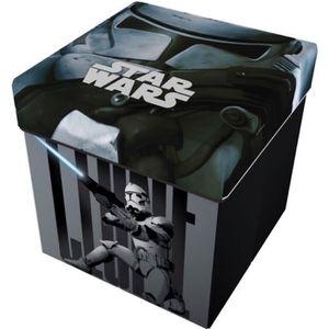 POUF - POIRE Pouf de rangement 2 en 1 Noir Star Wars