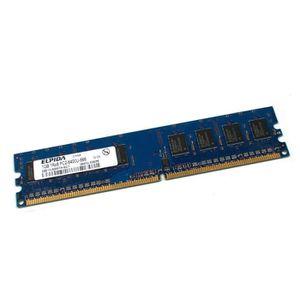 MÉMOIRE RAM 1Go RAM ELPIDA EBE10UE8AFFA-8G-F 240-Pin DIMM DDR2