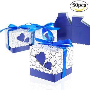 BOÎTE À DRAGÉES 50PCS - lot Boîte à dragées ,sachets cadeau de mar