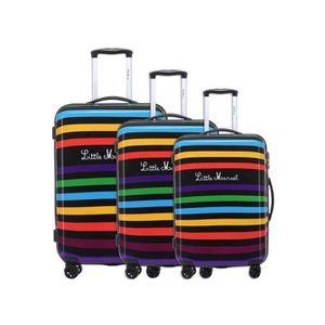 SET DE VALISES Set de 3 valises rigides 8 roulettes Multi Little