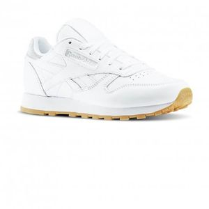 BASKET Chaussures Cl Leather Met Diamond W White e17 - Re