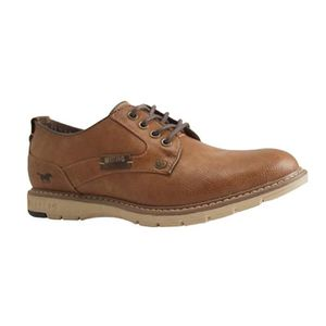 DERBY MUSTANG SHOES-4105 303 301-DERBY-MARRON