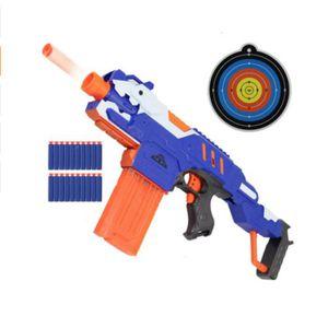 PISTOLET BILLE MOUSSE Nerf - Jeu de tir - pistolet flechette en mousse -