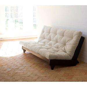 banquette futon achat vente banquette futon pas cher cdiscount. Black Bedroom Furniture Sets. Home Design Ideas