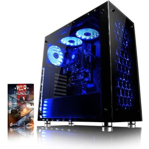 UNITÉ CENTRALE  VIBOX Nebula GS860-4 PC Gamer - AMD 8-Core, Geforc