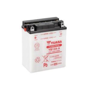 BATTERIE VÉHICULE Batterie YUASA YB12A-A conventionnelle