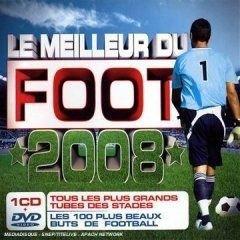 CD COMPILATION LE MEILLEUR DU FOOT 2008