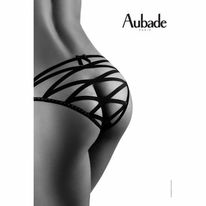 8cd3ee96b7 Boite à Désir AUBADE Amour piégé Noir Noir - Achat / Vente string ...