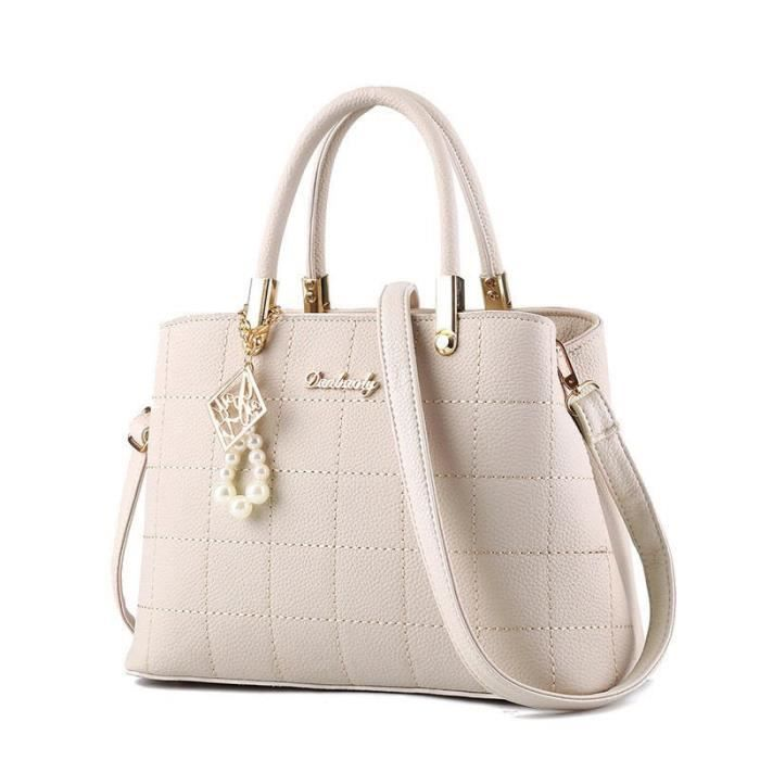 À cuir Main Nouvelle Femmes marque mode femme Blanc cuir meilleure de sac luxe à Célèbres femme Sacs sac main Marques qualité paTwqdwEx