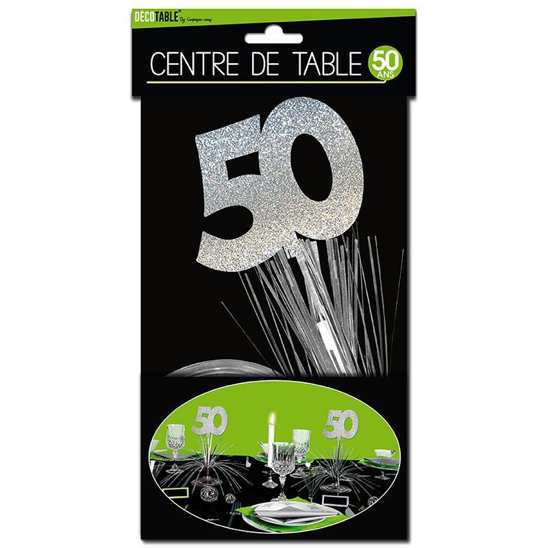 D coration anniversaire 50 ans achat vente d coration for Decoration 50 ans
