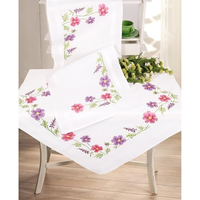 Kit nappe a broder - Achat / Vente Kit nappe a broder pas cher ...