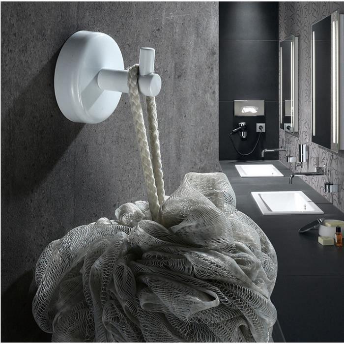 1 Pcs En Acier Inoxydable 304 Peinture Blanc Mat Toilettes Salle De