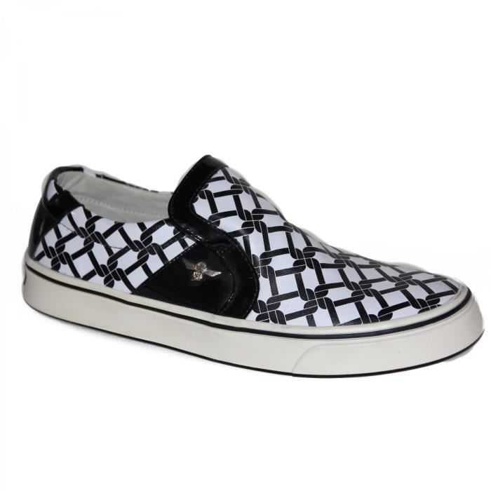 samples shoes SLIP ON CREATIVE RECREATION DON CARLO BLACK WH