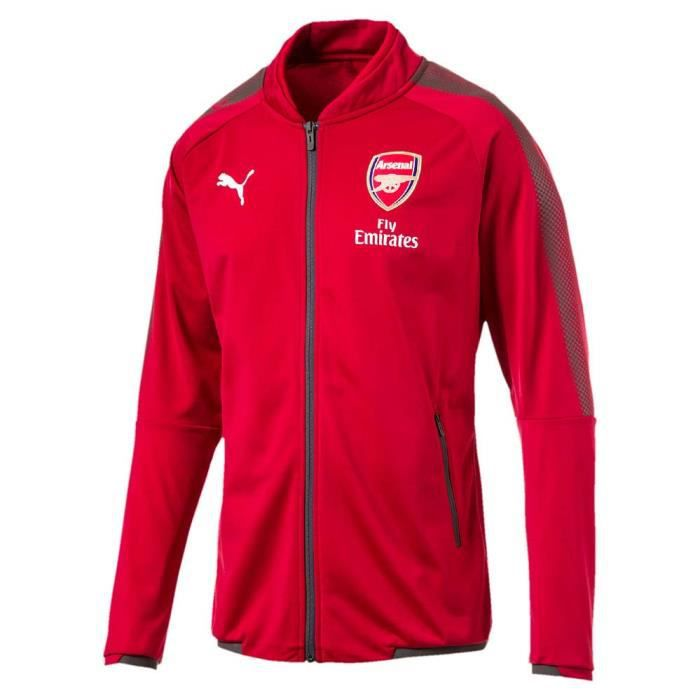 c6f7901e1245d Equipement officiel Clubs Puma Arsenal Fc Stadium Jacket - Prix pas ...