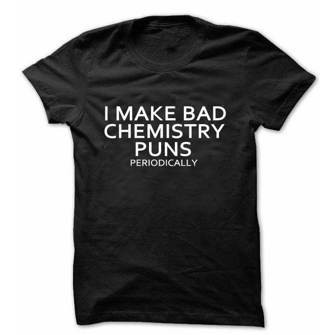 T-SHIRT t - shirt marrant unisexes chimie sciences t - shi