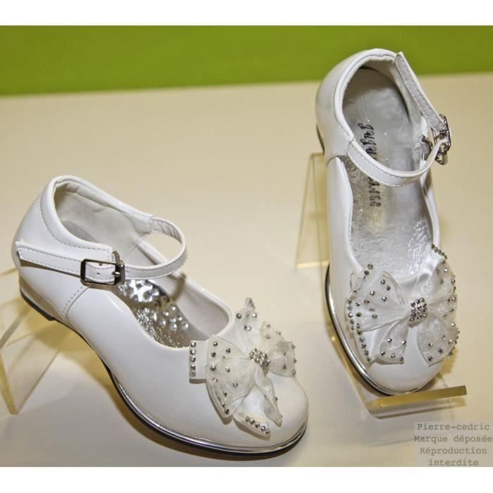 Chaussure Fille Mariage Baptême Cérémonie Noeud ! 89tVEsQvLh